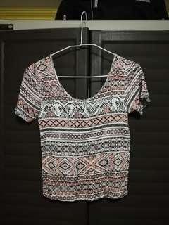 AEROPOSTALE aztec shirt small