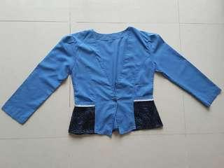 Outer denim cotton