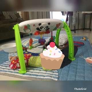 Fisher Price Grow-with-me play gym