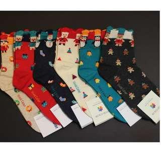 Christmas Socks - Mini Cartoon Patterns