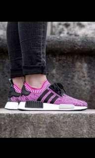 Adidas NMD R1 Pink BK US5 / UK3.5