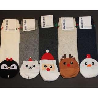 Christmas Socks - Cute Cartoon