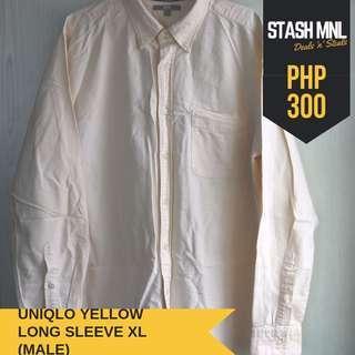 Uniqlo Yellow Long Sleeves