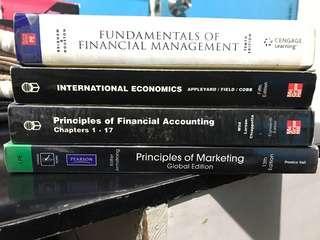 Management Textbooks (4 Books)