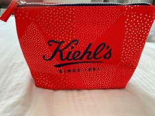 Kiehl's limited edition pouch