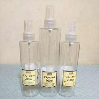 🚚 大創噴霧式補充瓶(三個)