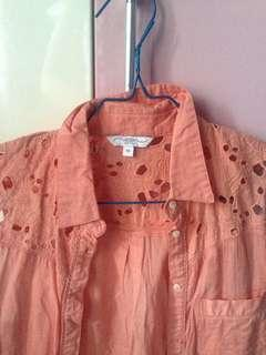 Peachy Pattern Blouse by NewLook
