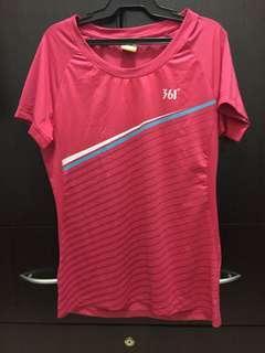 361 dri-fit pink shirt