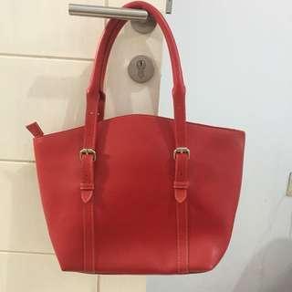 Tote Bag Red JUALRUGI