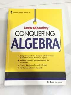 lower secondary conquering algebra math assessment book instock