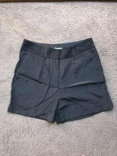 Kookai Silk Black Shorts