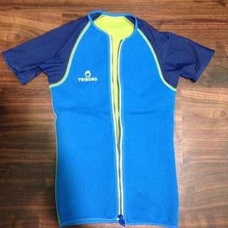 Tribord Boys Wetsuit Top