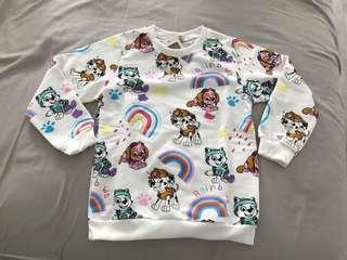 Paw Patrol Pullover Top