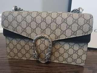 Authentic Like New Gucci Small Dionysus Black