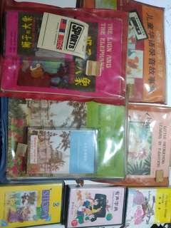 learning casettes (7 sets)
