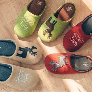 🎅🏻🎄家居拖鞋 #親子 #情侶# 聖誕禮物🎁