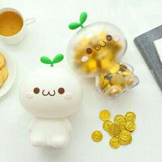 INSTOCK Plant Coin Piggy Bank