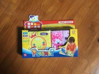 Baby interactive cloth book 2pc