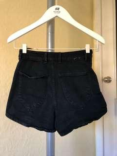 ROLLAS Grey Denim Shorts