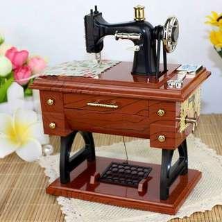 INSTOCK Sewing Machine Music Box