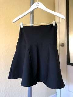 KOOKAI Black Drop Flare Skirt