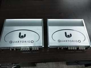 Sinfoni Quartorigo Presto 2 channel amplifier