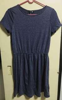 [PRE-LOVED] Cotton On Blue-Gray Dress
