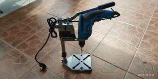 Hand Drill and drill stand
