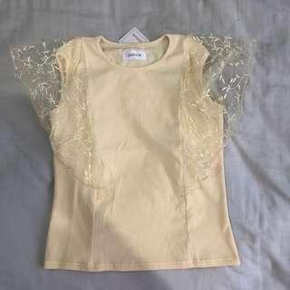 NEW! Lace sleeve top