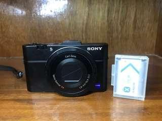 Sony rx100 Mark 2