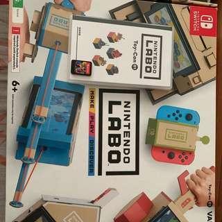 Nintendo switch Labo 1 assembled
