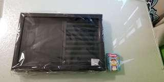 全新黑色首飾盒