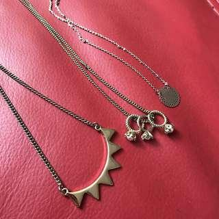Assorted Gold Necklaces