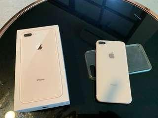 7 Month old iPhone 8 Plus 256 gb gold