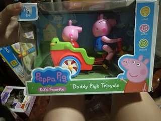 Peppapig bicycle toy