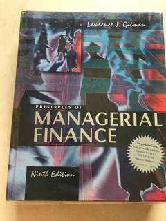 Principles of Managerial Finance Ninth Edition