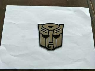 Emblem Autobot Transformer