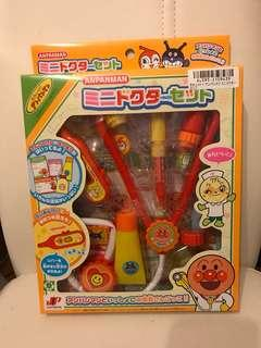 (清貨價)日本 麵包超人 Anpanman 可愛 扮醫生 聽診器 玩具