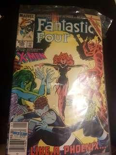 Fantastic Four:  Like A Phoenix.... [1985 Marvel Comic]