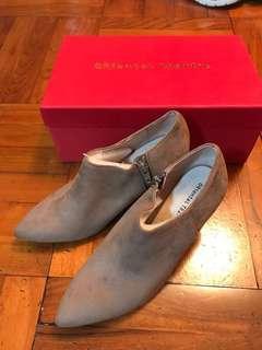全新 Oriental Traffic Beige 色短靴 短boot