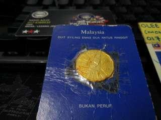 Syiling Emas Rancangan Malaysia Ke-3