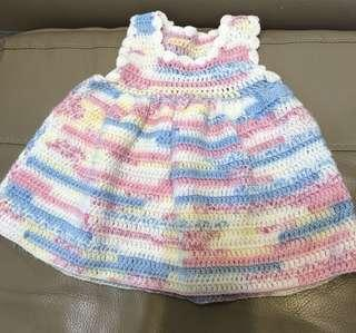 6-9m Knitted dress