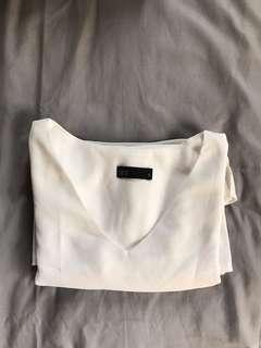 Seed working white blouse