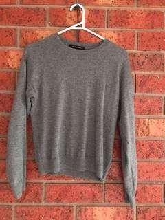 Nique wool cashmere grey sweater size S