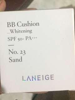 Laneige whitening bb cushion no 23 sand
