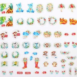 PVC Stickers - Little Blue Bear