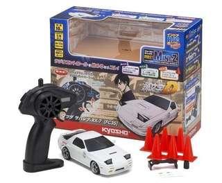 全新(現貨)日本 京商 Kyosho First Mini-Z 入門版 頭文字D Mazda RX-7 FC3S  高橋涼介 遙控車