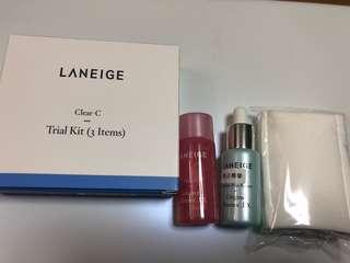Laneige kit set $50 基底液,精華 旅行必備