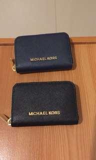 🚚 MK零錢包(黑/藍)
