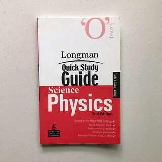 🚚 Longman Olevel physics quick study guide